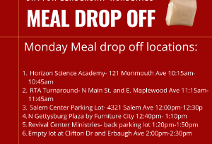 Meal Distribution Stops